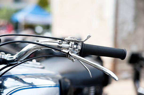 Klassische Biker-Details  – Foto