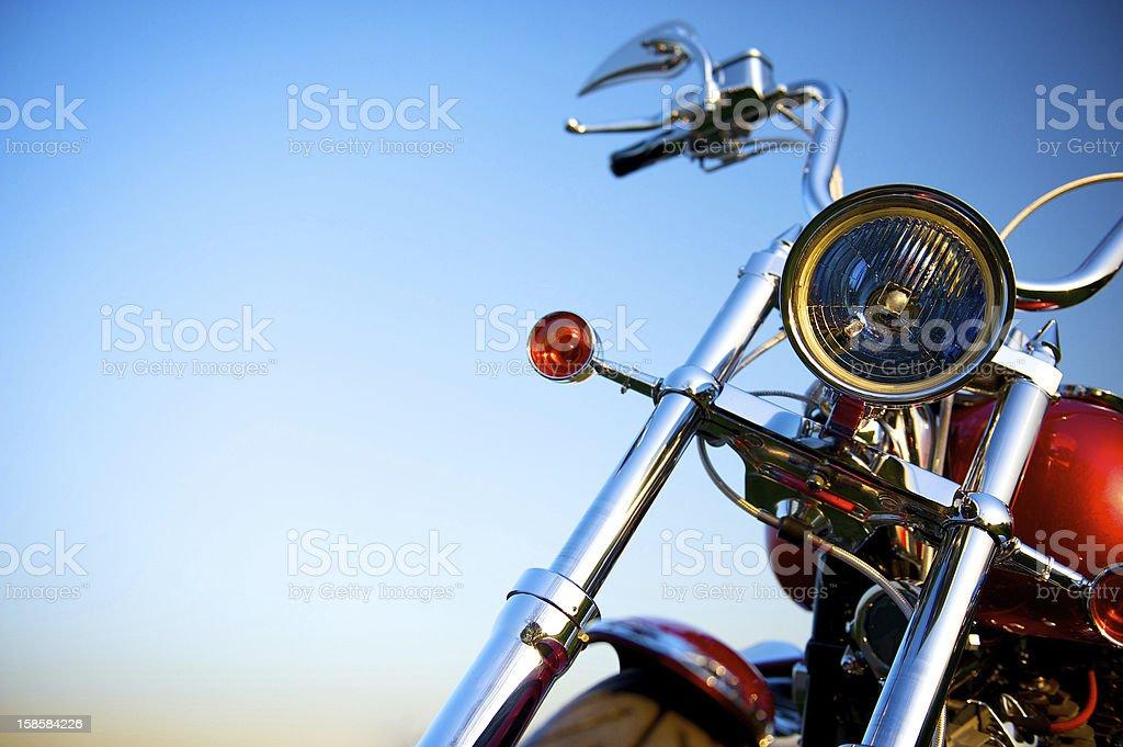Classic Motorcycle stock photo