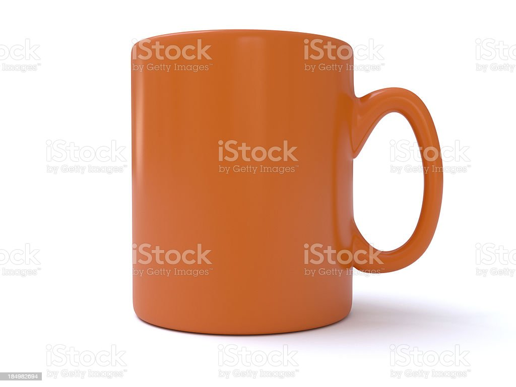 Classic Mug royalty-free stock photo