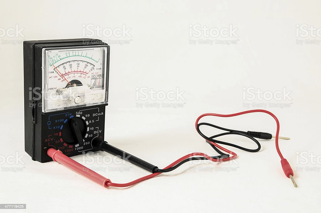 Classic New Electricity Tester stock photo