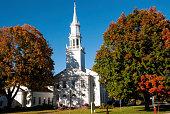 Classic New England Church in Avon Connecticut