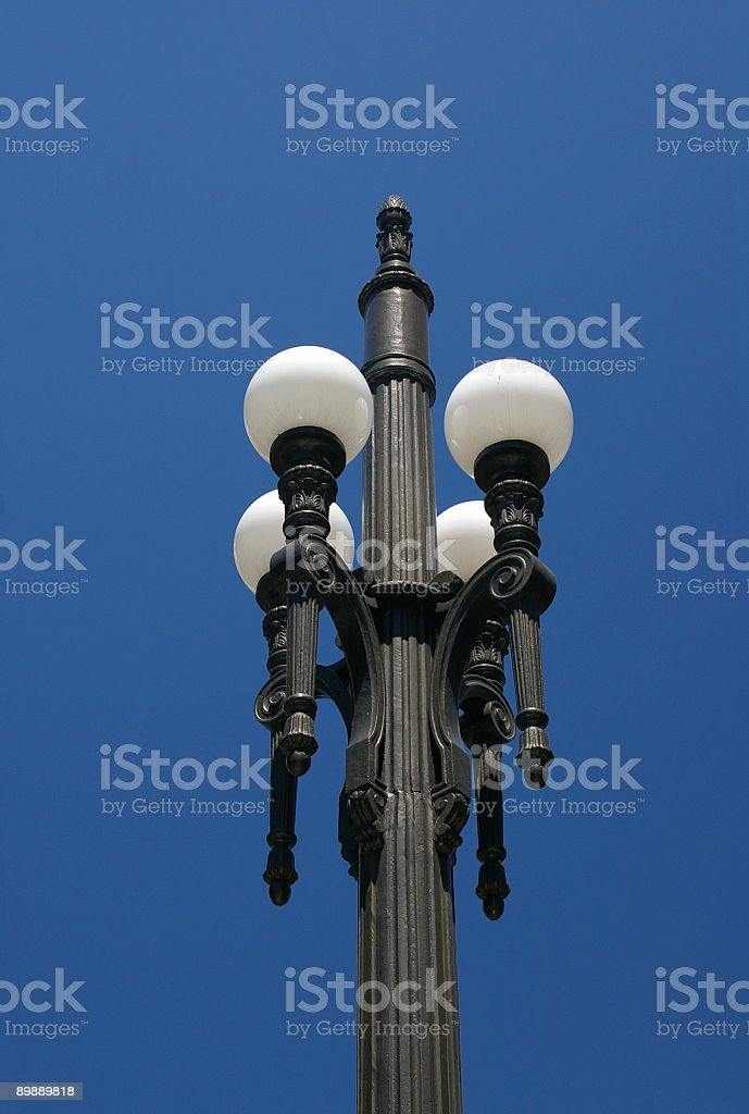 Classic pole royalty-free stock photo