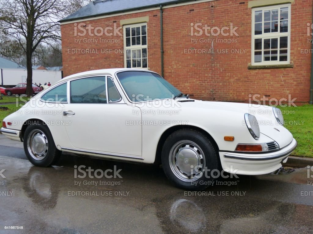 Classic Porsche 911 1967 stock photo
