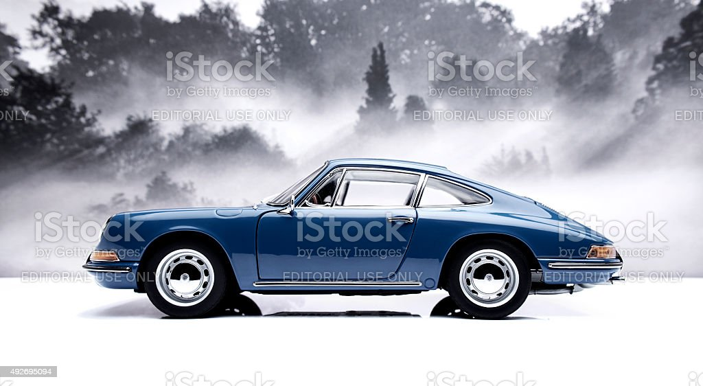 Classic Porsche 911 Model stock photo