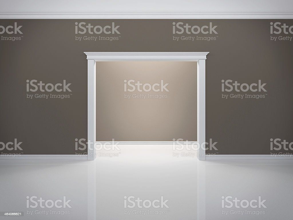 Classic portal royalty-free stock photo