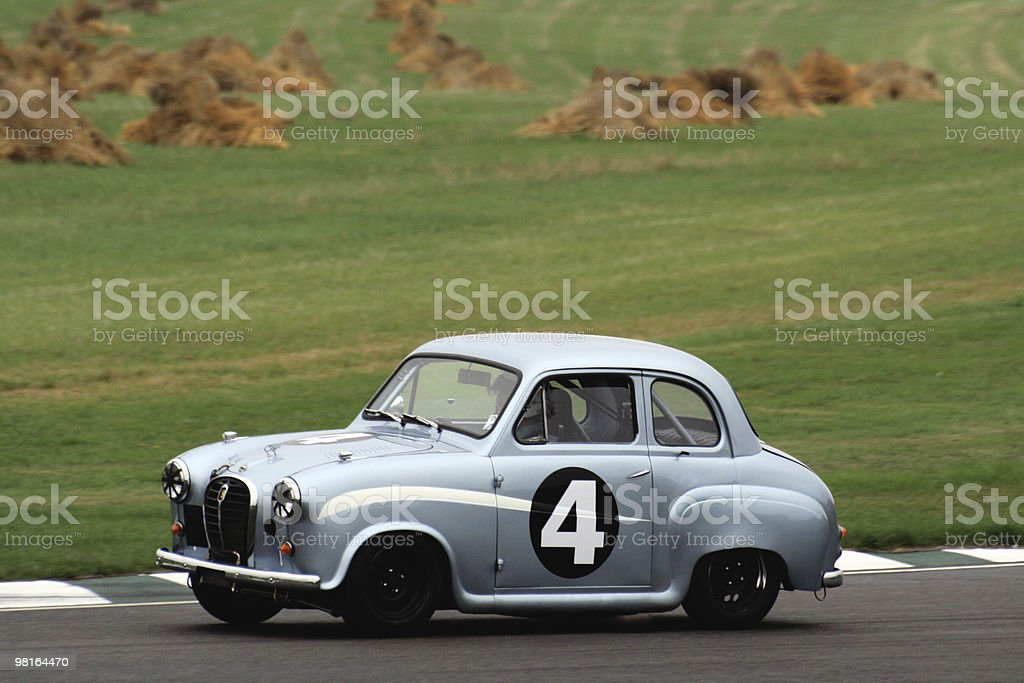 Classic Racing Car royalty-free stock photo
