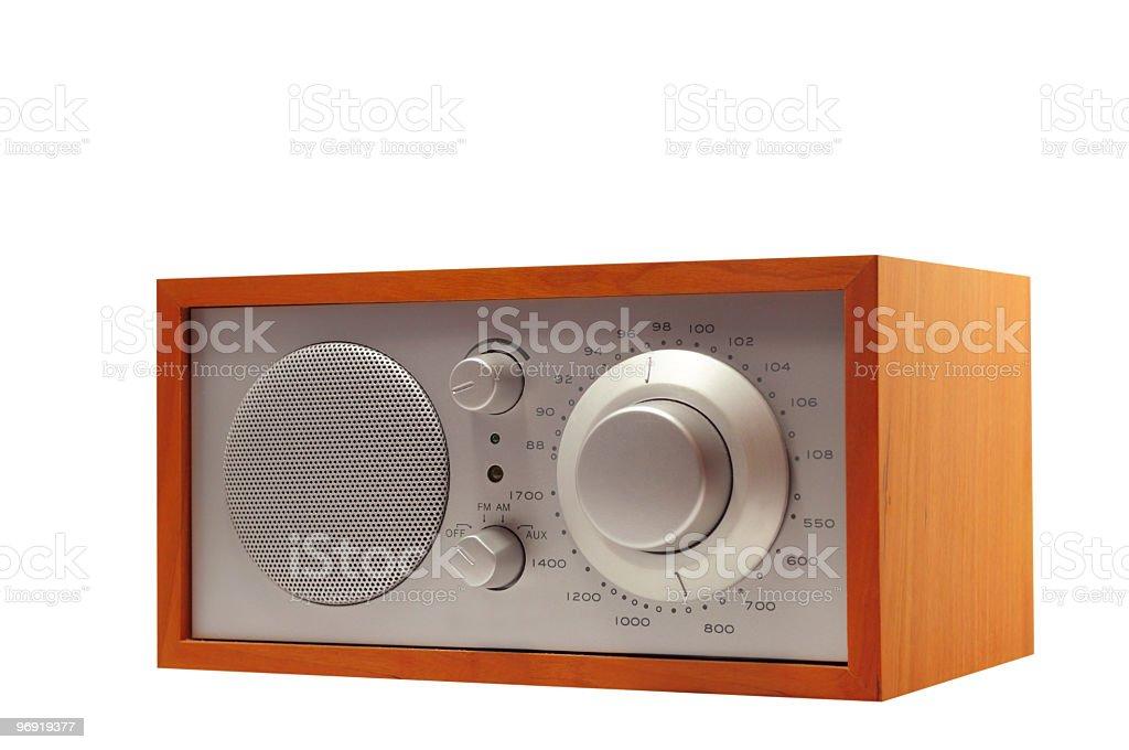 Classic radio royalty-free stock photo