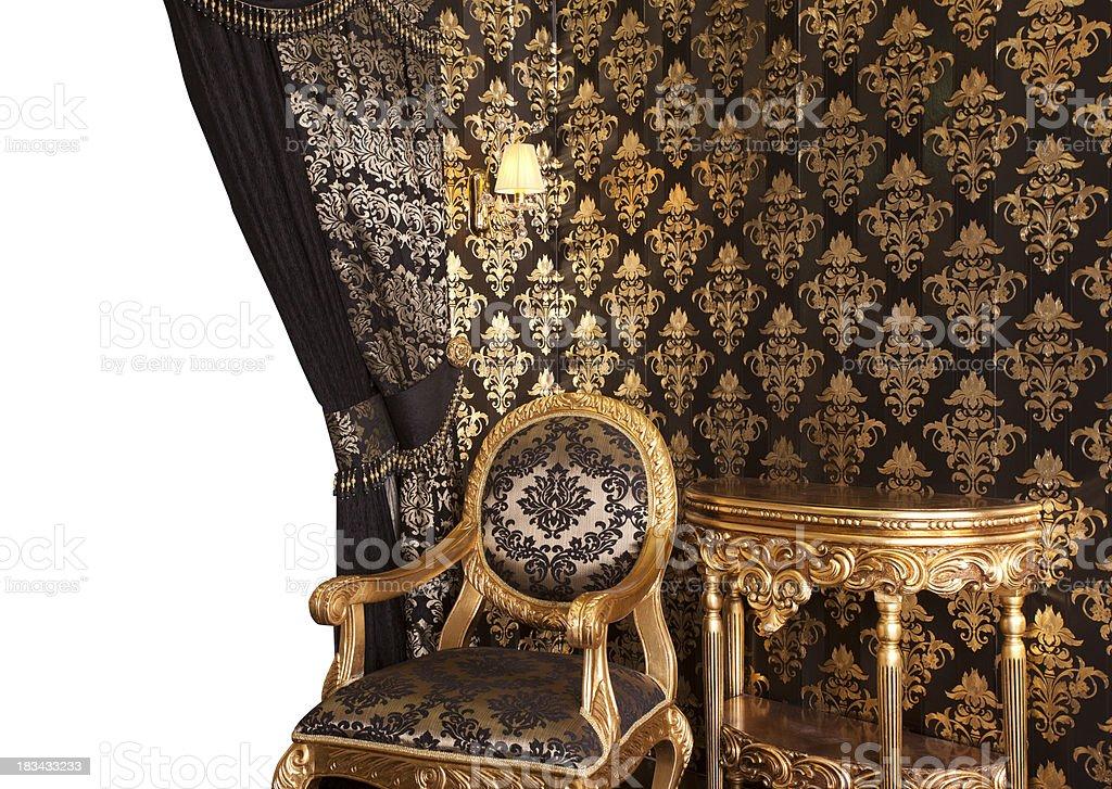 Classic retro furniture royalty-free stock photo