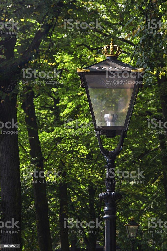 Classic Royal Lantern royalty-free stock photo