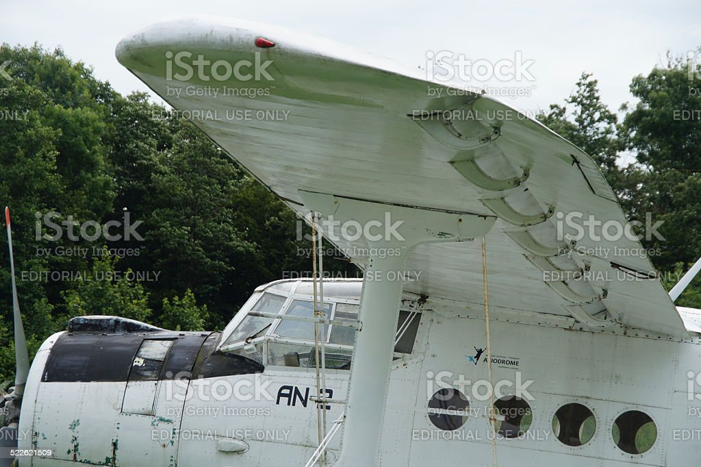 Classic Russian Antonov An-2 Colt - side view stock photo