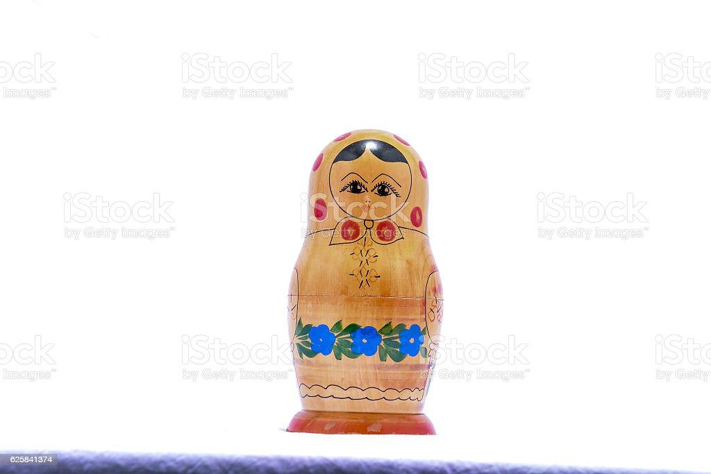 Classic Russian Matrioska Doll stock photo
