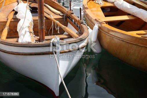 Classic sail boat details