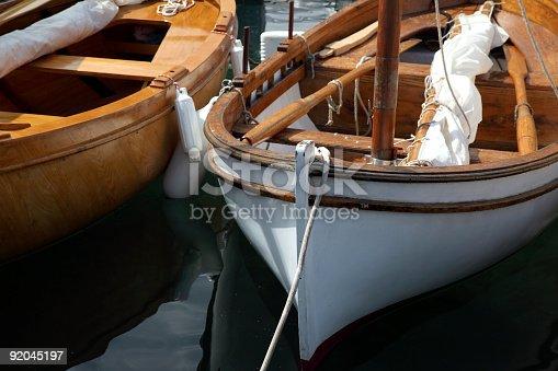 Classic sail boat details-Moscenicka Draga-Croatia