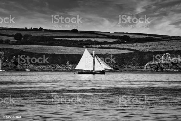 Photo of Classic sailing boat off Falmouth