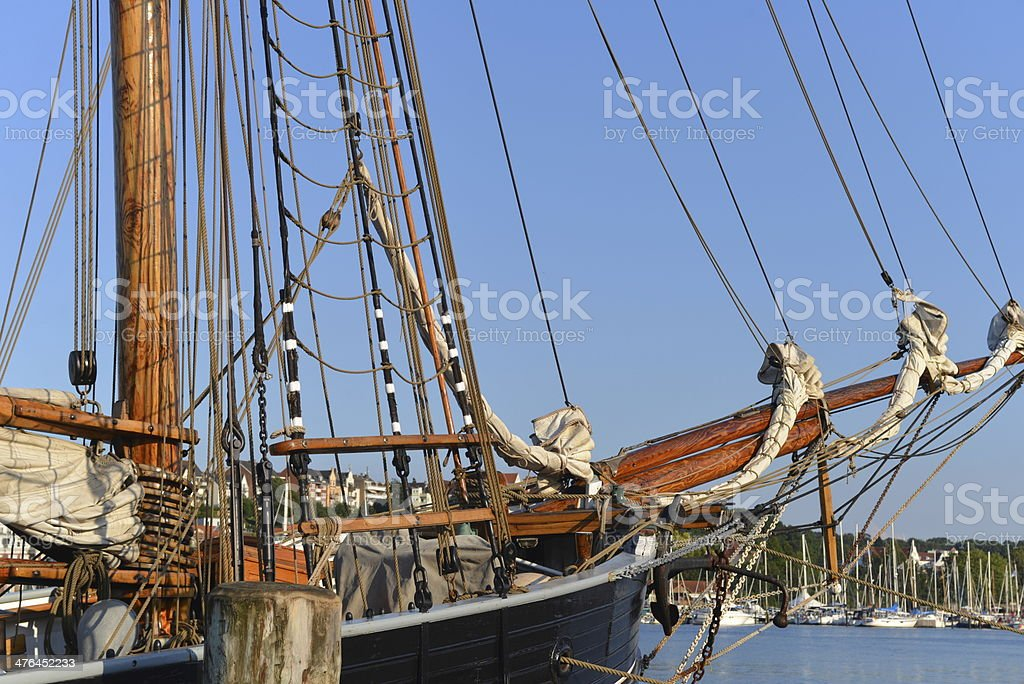 Classic Sailing Ship royalty-free stock photo