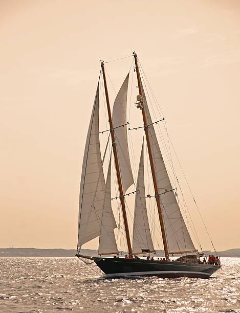 Klassisches Segelboot yacht – Foto