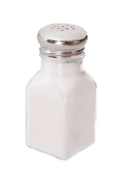 Classic salt shaker stock photo