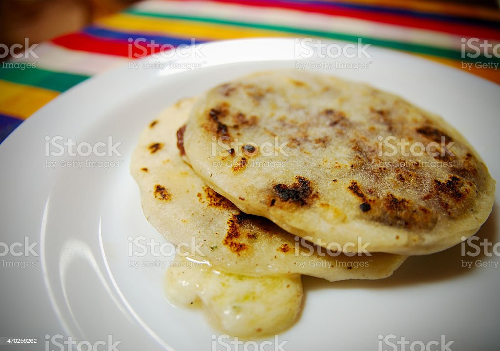 Classic Salvadorean dish stock photo