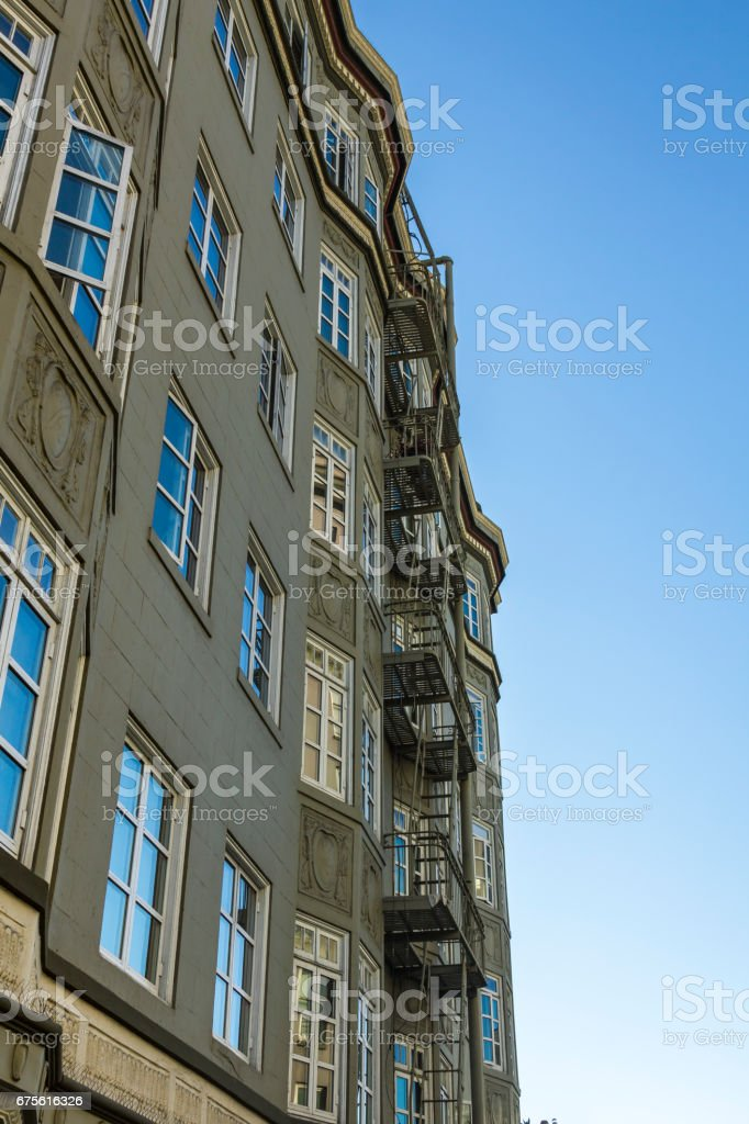 Classic San Francisco architecture royalty-free stock photo