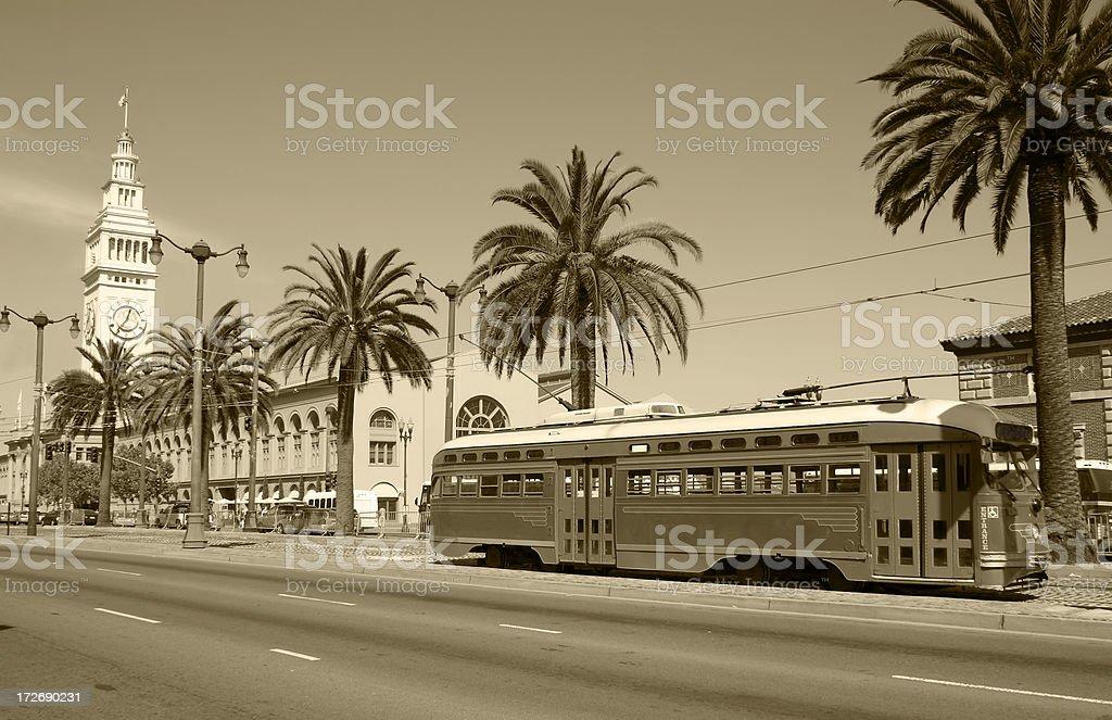 Classic San Francisco stock photo