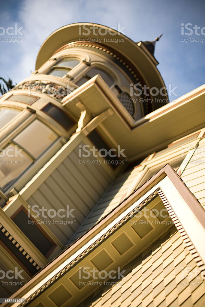 Classic San Francisco Victorian Architecture royalty-free stock photo