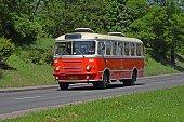istock Classic San H-100B driving on the street 687702256