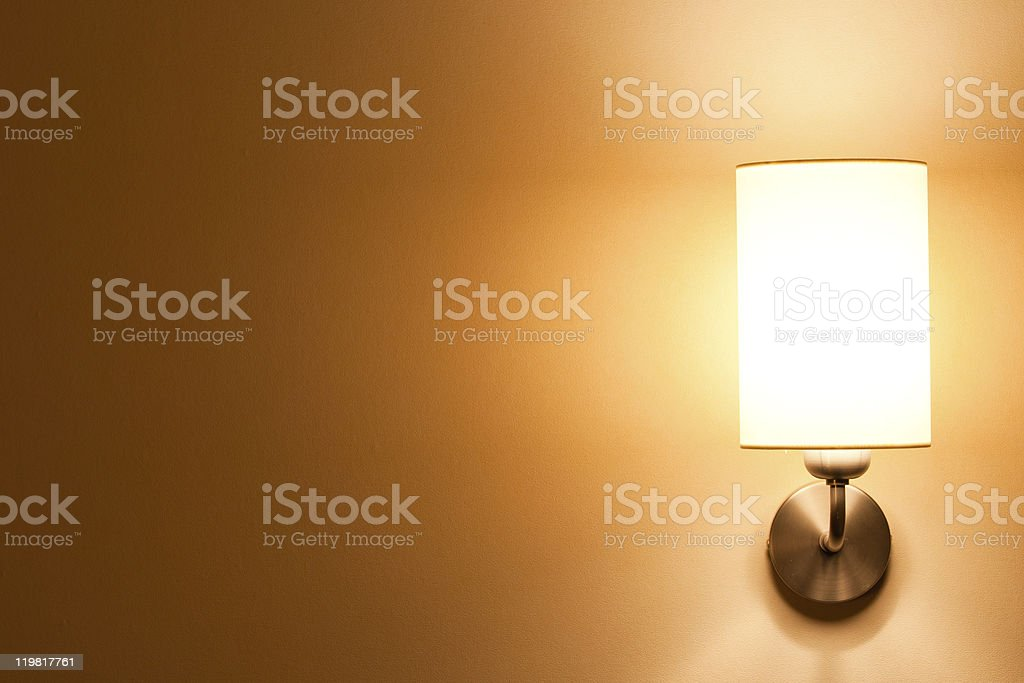 classic sconce stock photo