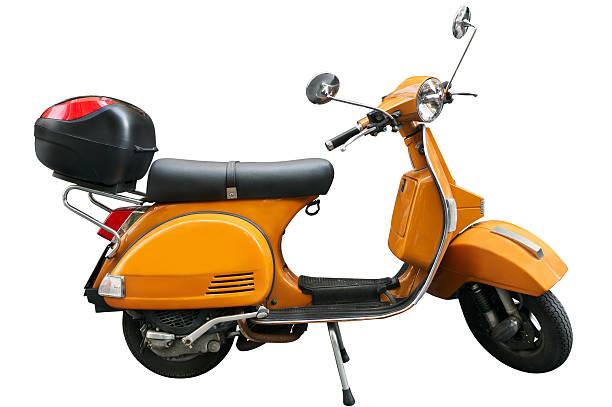 Klassischen scooter Isoliert – Foto
