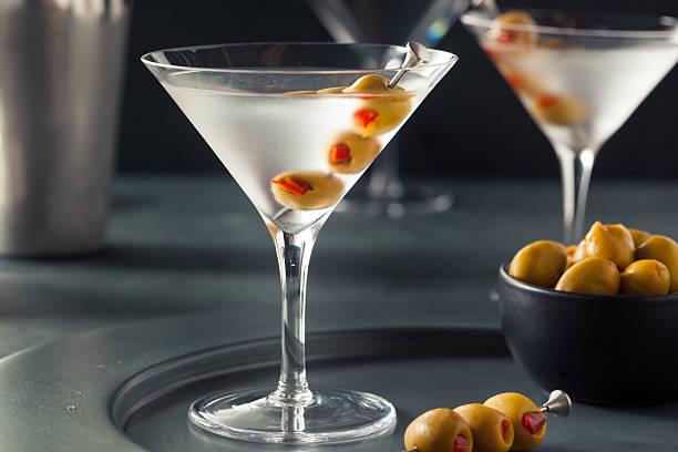 Classique Vodka Martini secoué au sec. - Photo
