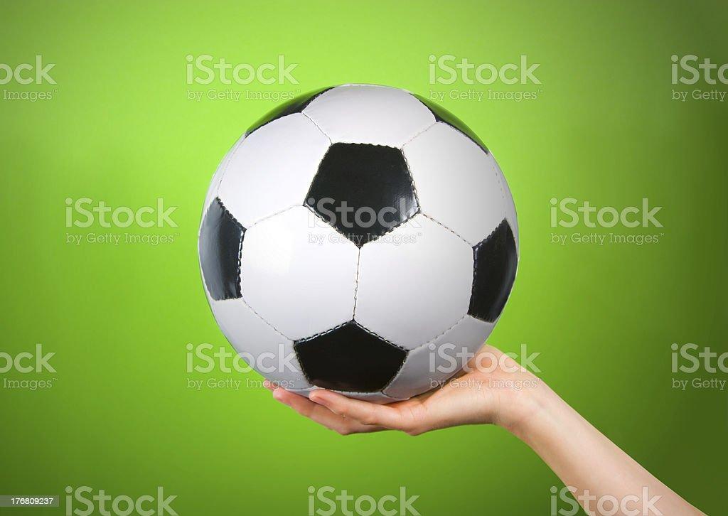 Klassische Fußball-Spielball – Foto