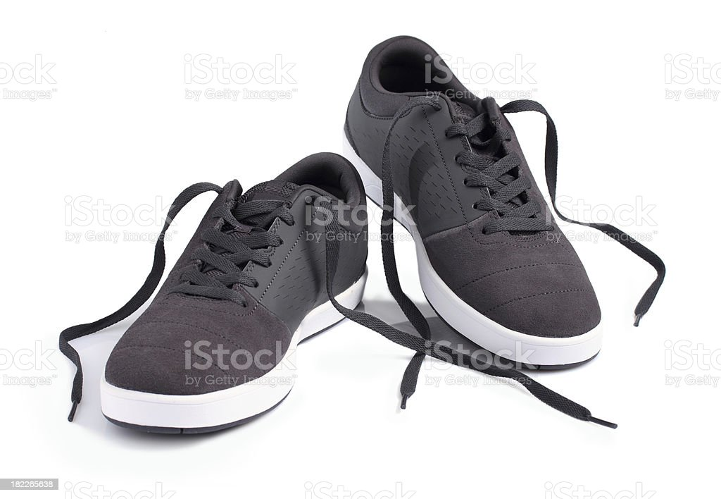 Classic sport shoes royalty-free stock photo