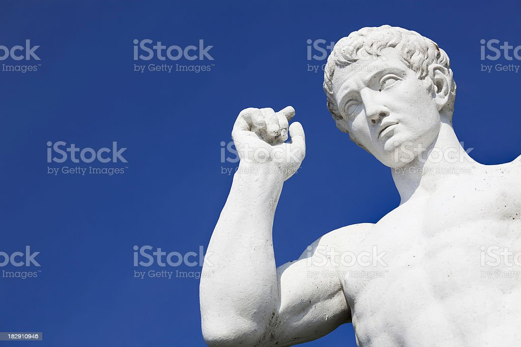 Classic statue stock photo