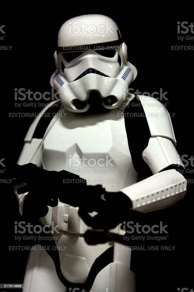 Classic Stormtrooper stock photo