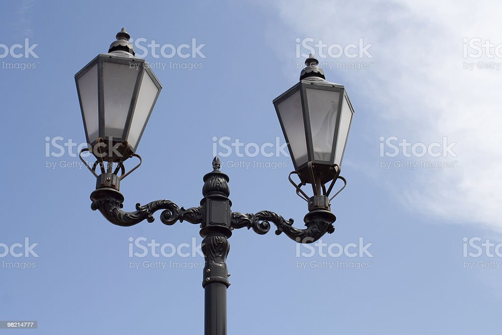 Classic Street Light royalty-free stock photo