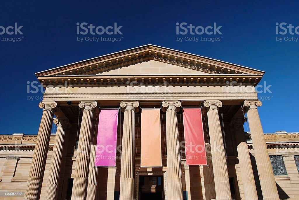 Classic style building royalty-free stock photo