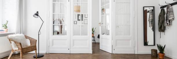 Classic style home interior stock photo