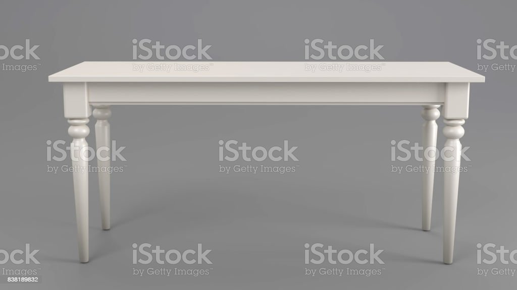Classic Table stock photo