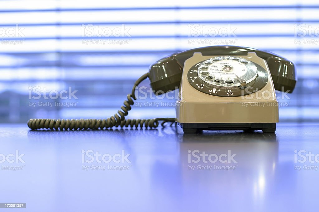 Classic telephone royalty-free stock photo