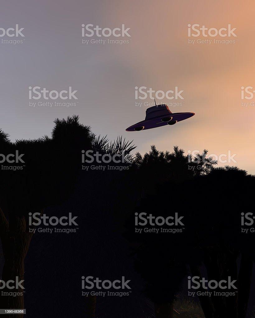 Classic UFOs V1 stock photo