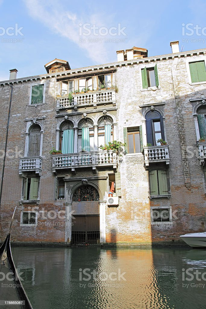 Classic view of Venice, Italy royalty-free stock photo