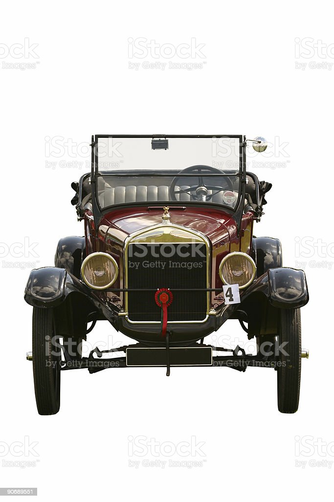 Classic Vintage Car royalty-free stock photo