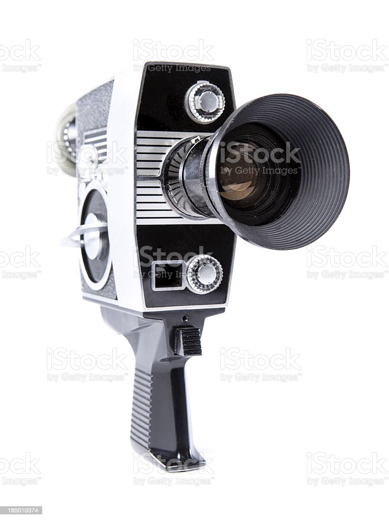 Classic Vintage Eight MM Video Camera stock photo
