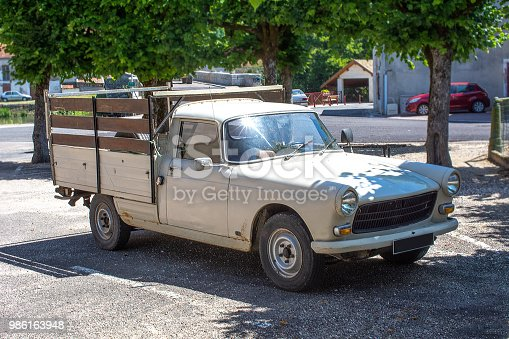 Classic vintage french pickup