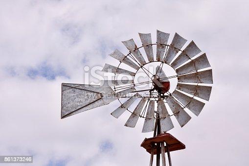 istock Classic Vintage Windmill 861373246