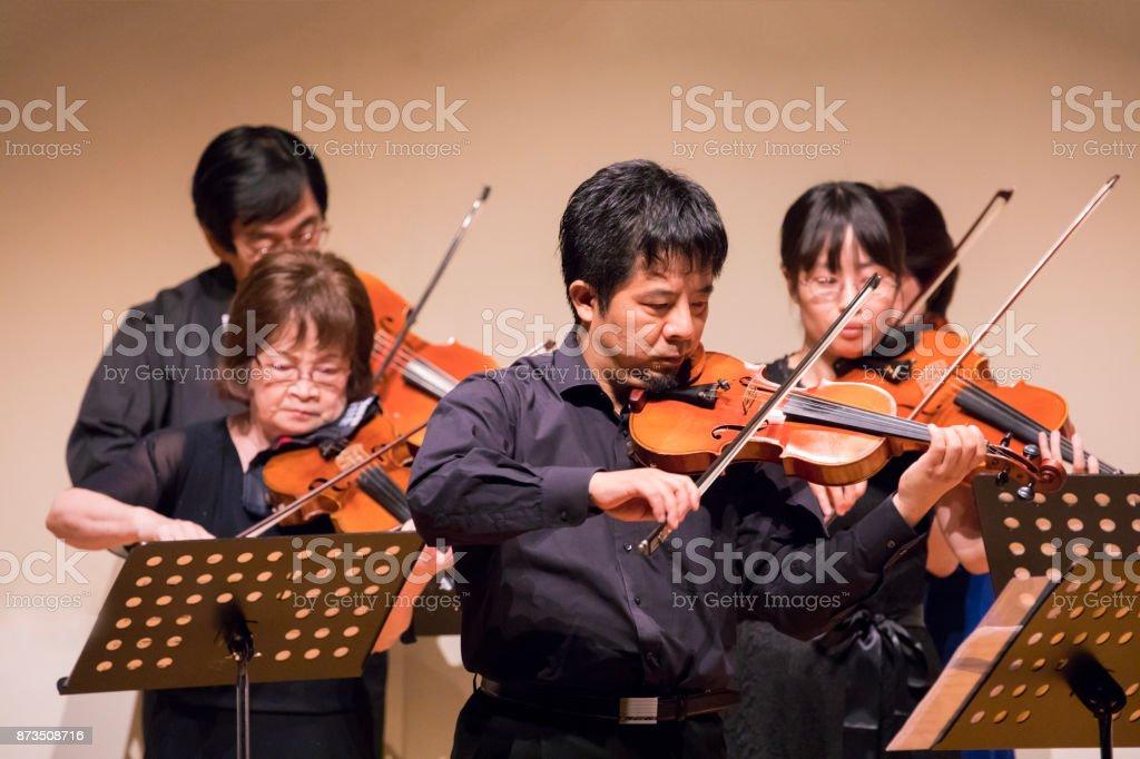 Classic violin concert