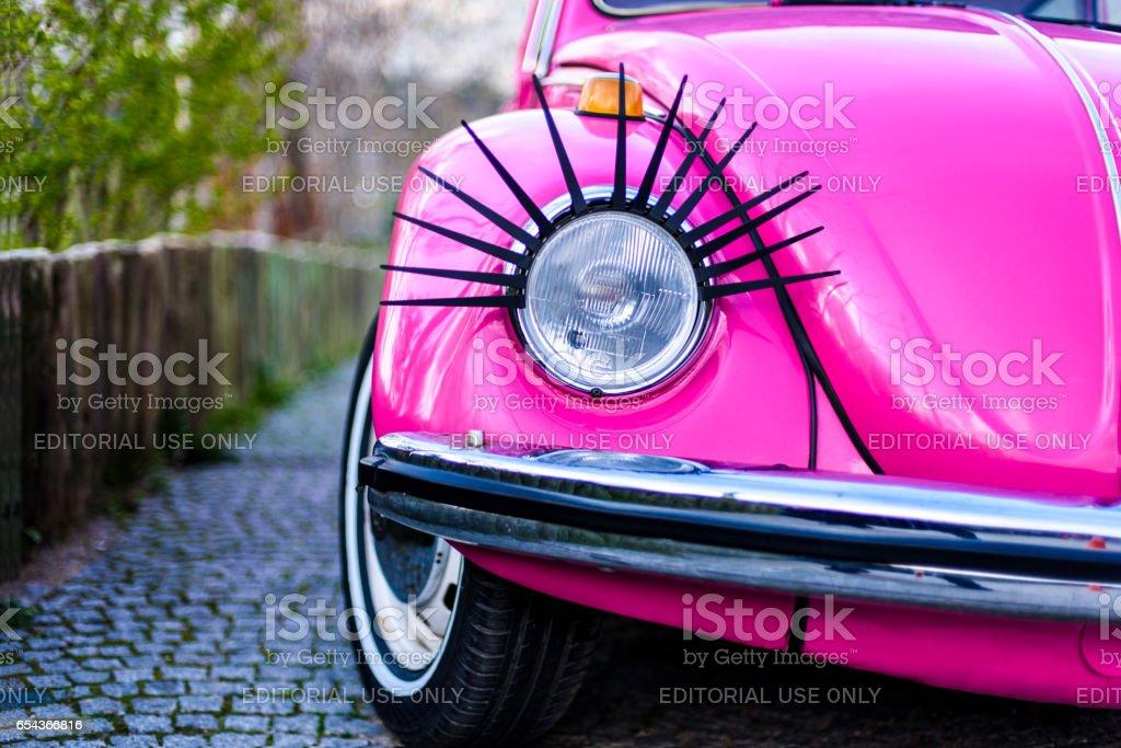 Classic Volkswagen Beetle stock photo
