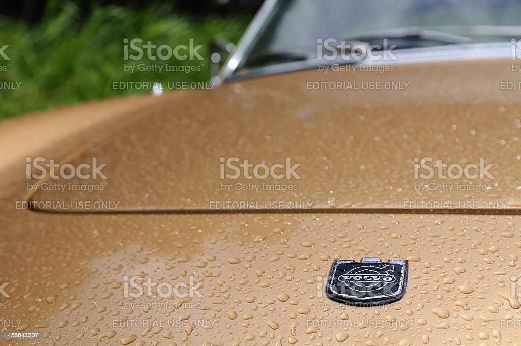 Classic Volvo stock photo