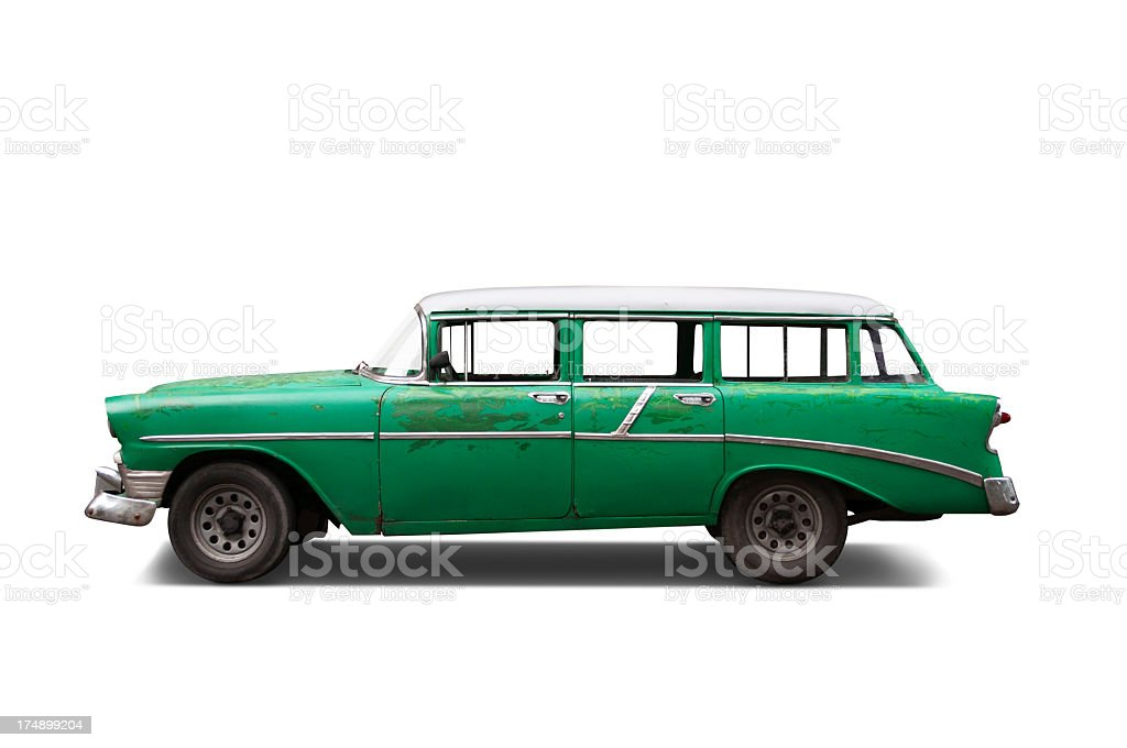 classic wagon stock photo