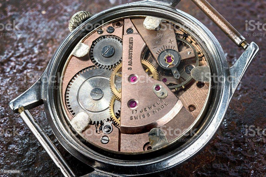 Classic Watch stock photo