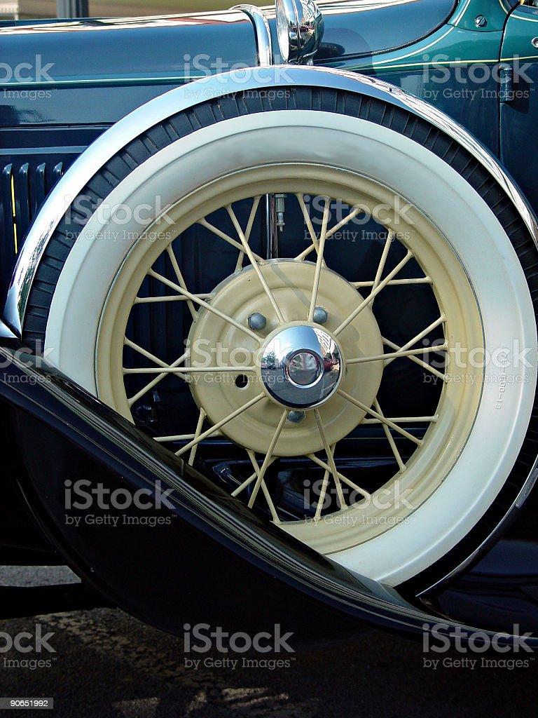 Classic Wheel royalty-free stock photo